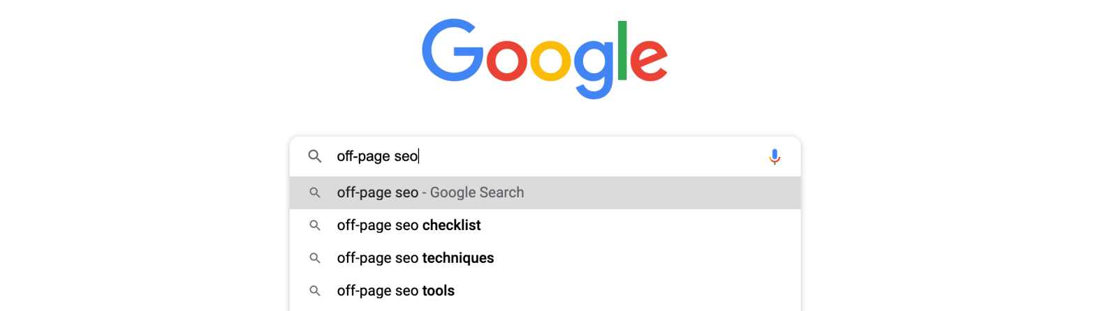 Off-page SEO definition and best practices.