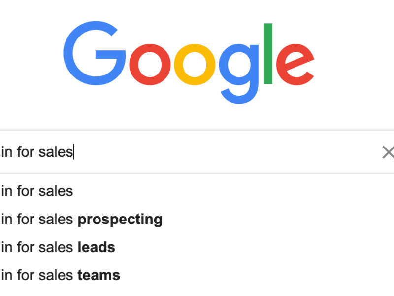 How to use LinkedIn for sale prospecting.